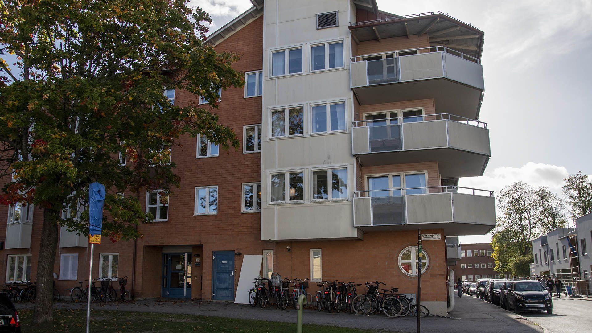 Exteriörbild på Rostocks förskola