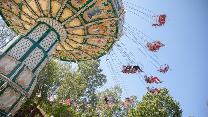 En karusell i Furuviksparken
