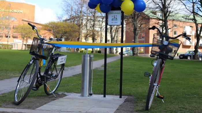 Manuella cykelpumpar