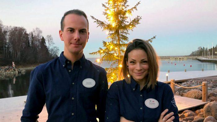 David Huldén och Sarah Joachimsson
