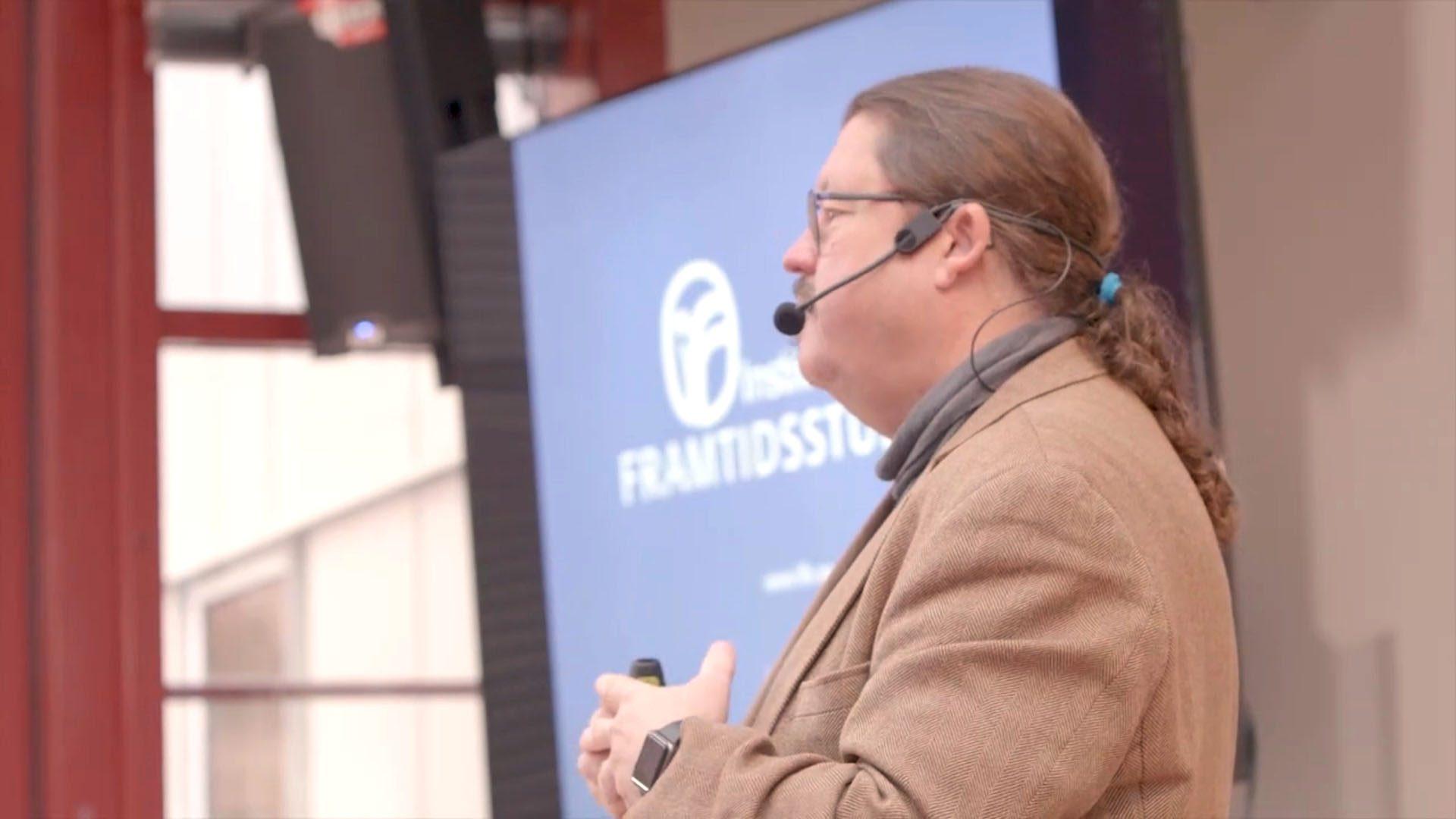 Anders Ekholm föreläser om Digitaliseringens möjligheter för kvalitet och kontinuitet inom socialtjänsten