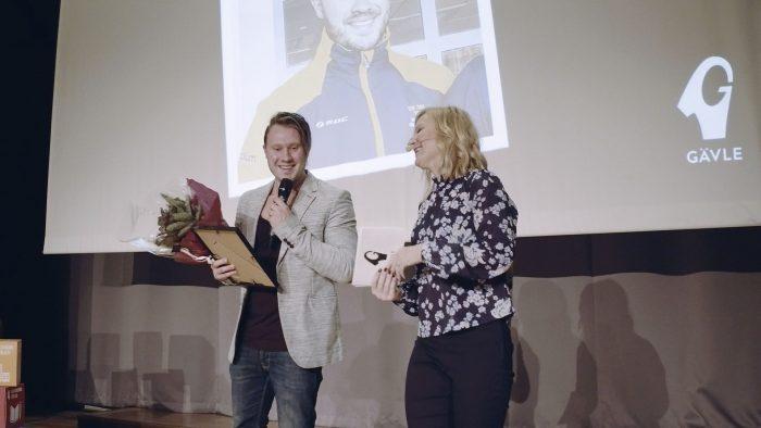 Ted Branting vinner utmärkelsen
