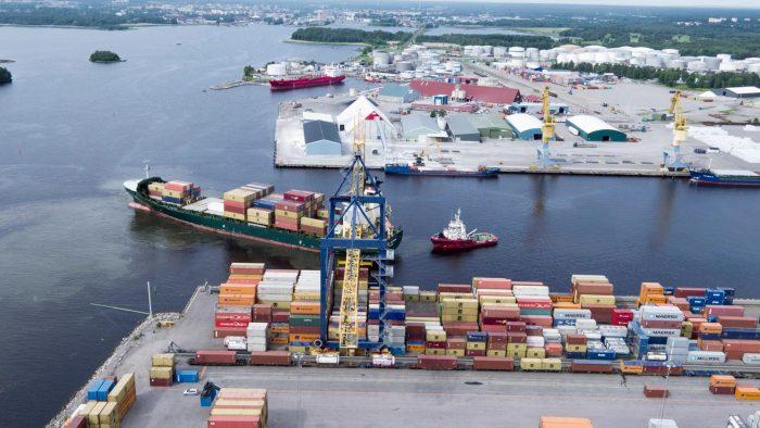Fartyg i Gävle hamn