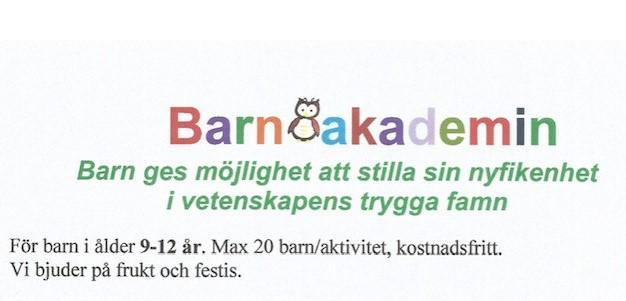 Barnakademin sportlov 2019
