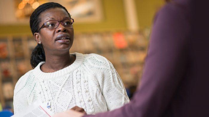 Tina Chimba på Välfärd Gävle