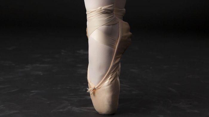 Elev som dansar balett
