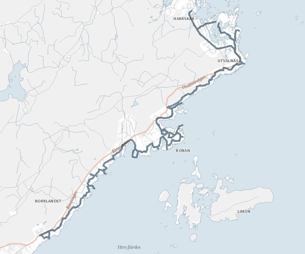 karta norrlandets kustled