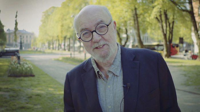 Ulf Ivar Nilsson i esplanaden