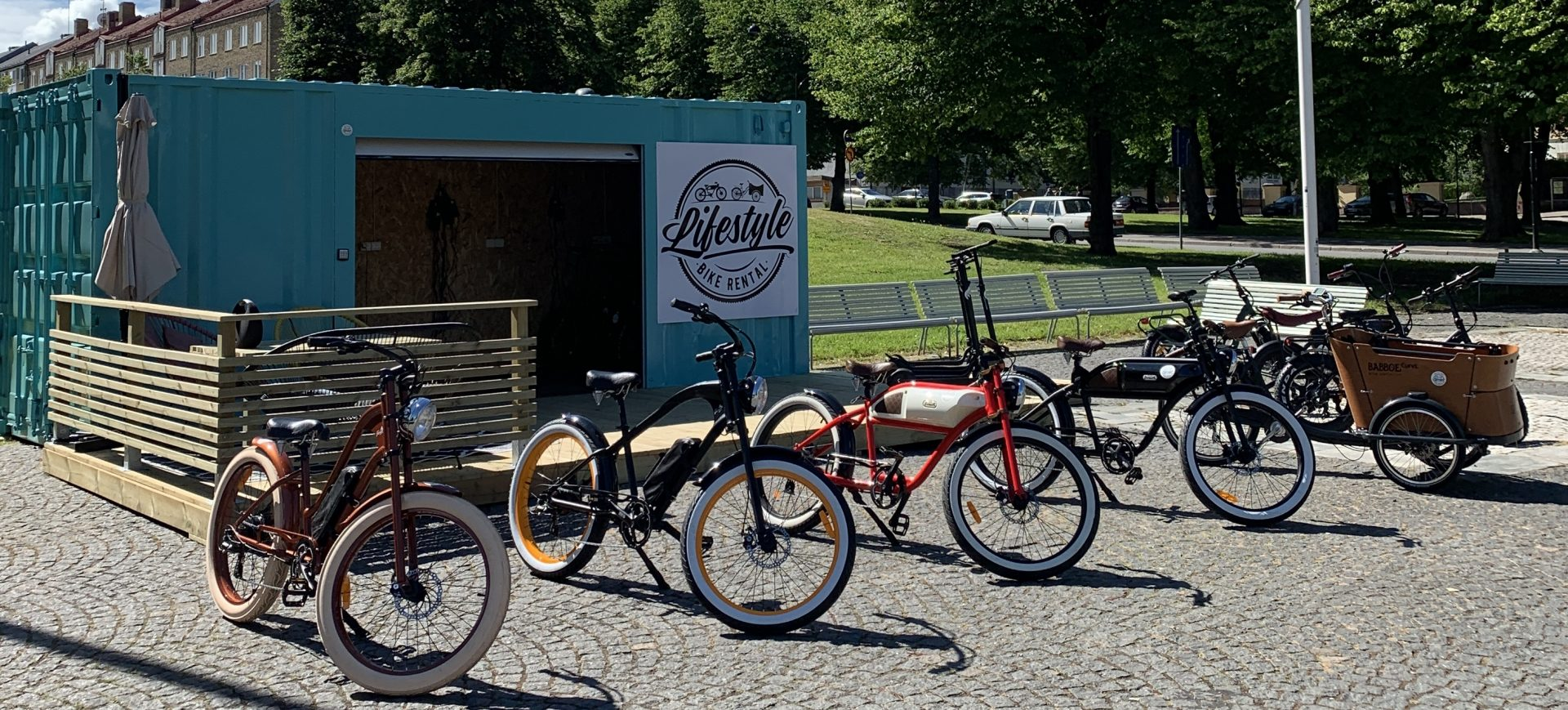Lifestyle bike rental