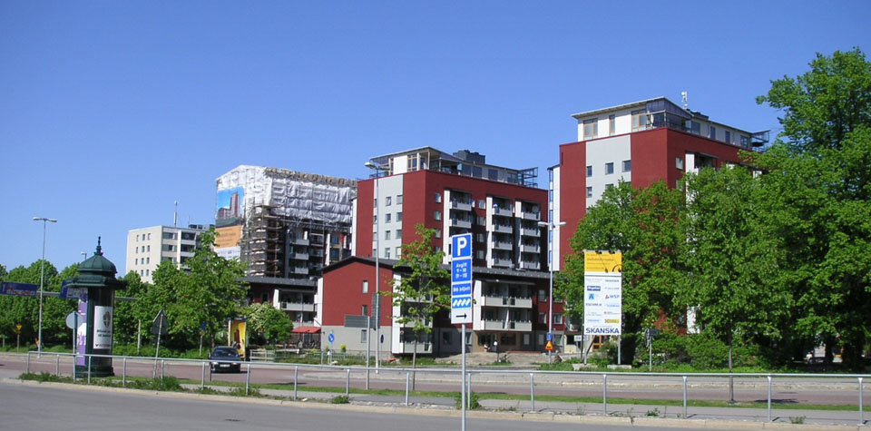 Öster byggs om. Foto Lars Skogsberg 2006_