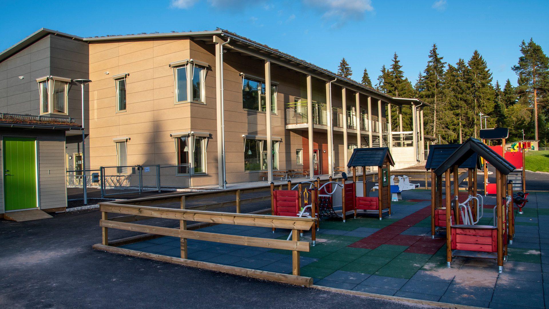 Exteriörbild på Sörby förskola
