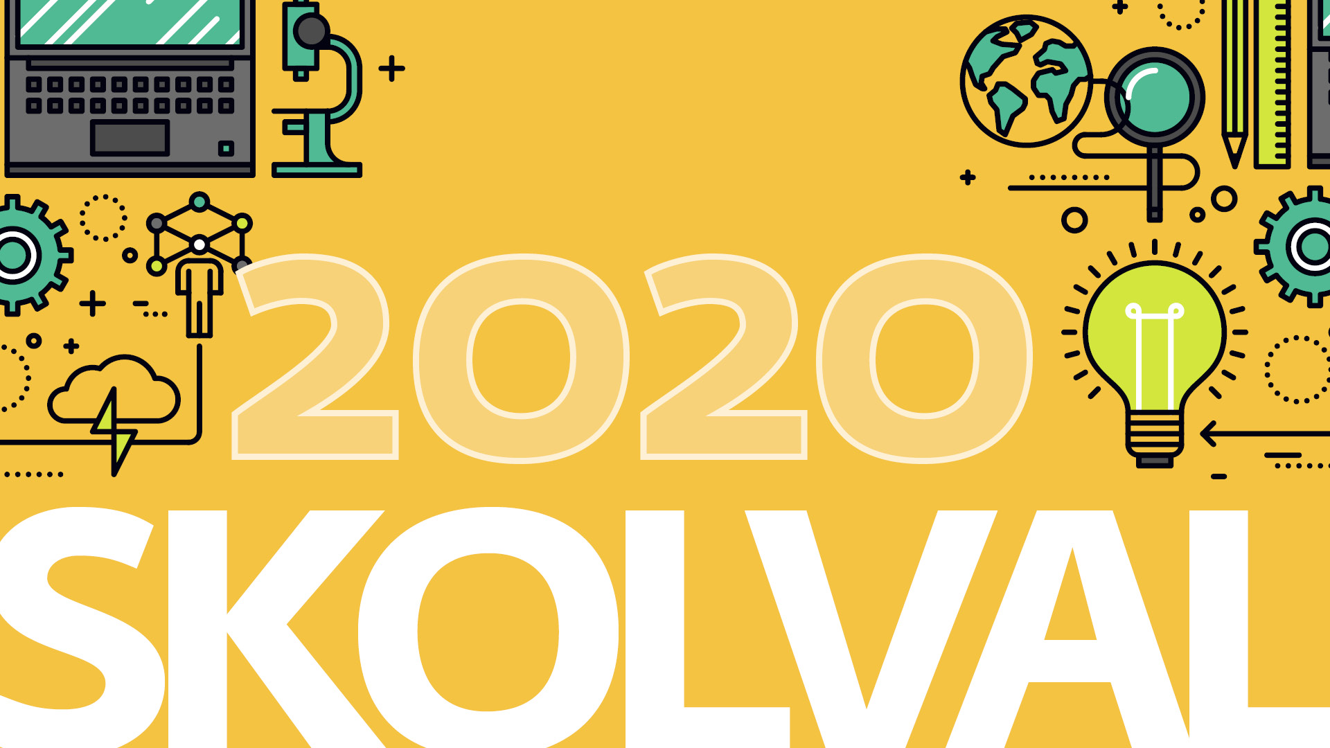 Illustration över skolvalet 2020