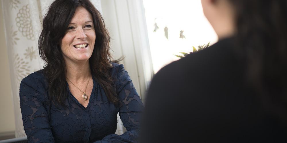 Lisa-Marie Hedblom Sandert, 24 r i Gvle p Hillmanskroken