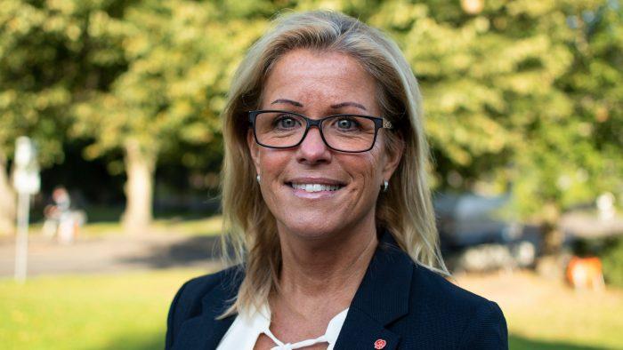 Åsa Wiklund Lång, kommunstyrelsens ordförande.