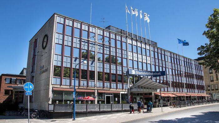 Stadsbiblioteket i Gävle.