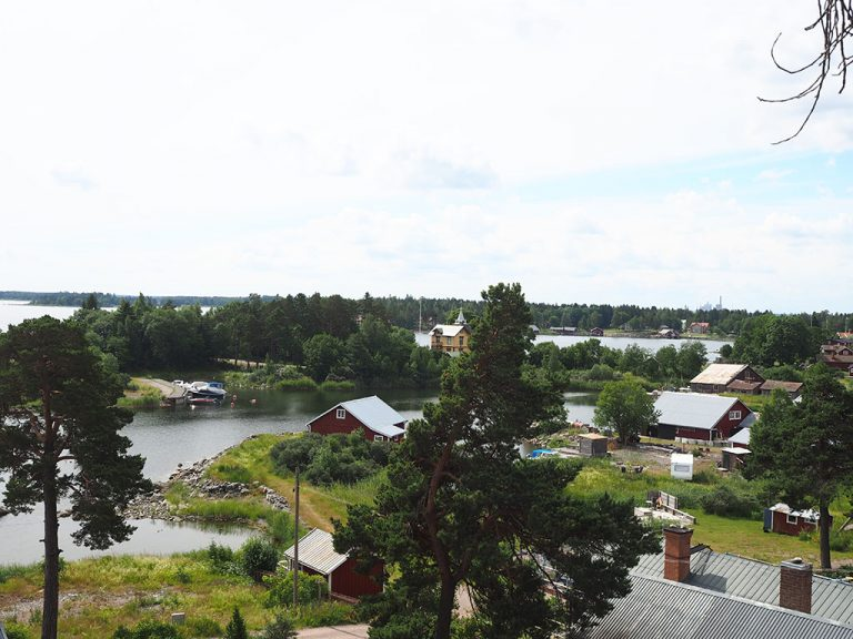 Flygfoto över Gråberget