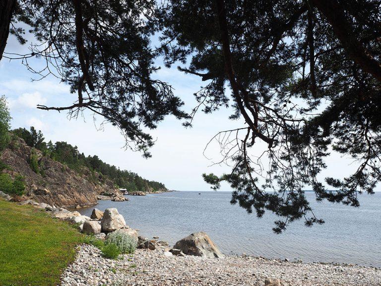 Utkiksplats längs kustleden