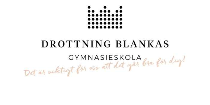 Drottning Blankas gymnasieskolas logotyp