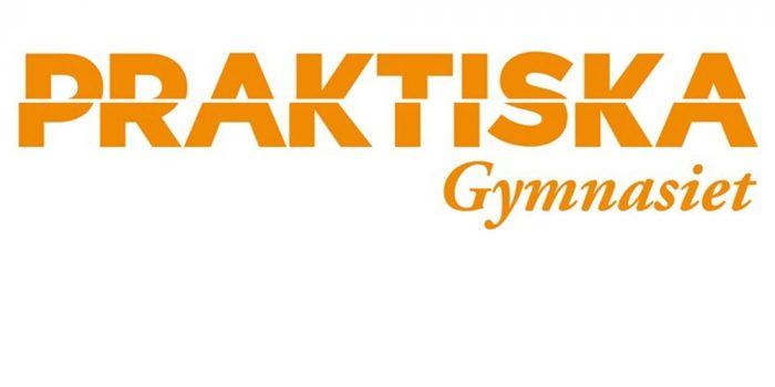Praktiska gymnasiets logotyp