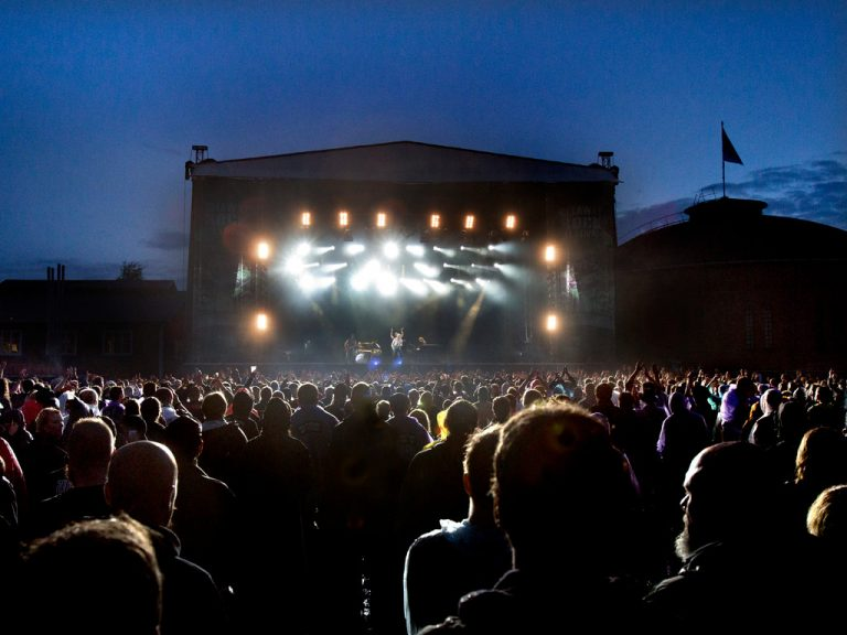 Vimmelbild från Gefle Metal Festival.