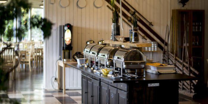 Restaurangen i Hemlingbystugan.