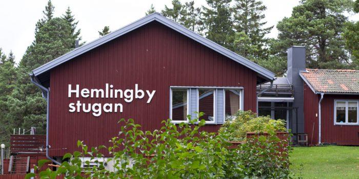 Exteriörbild av Hemlingbystugan.