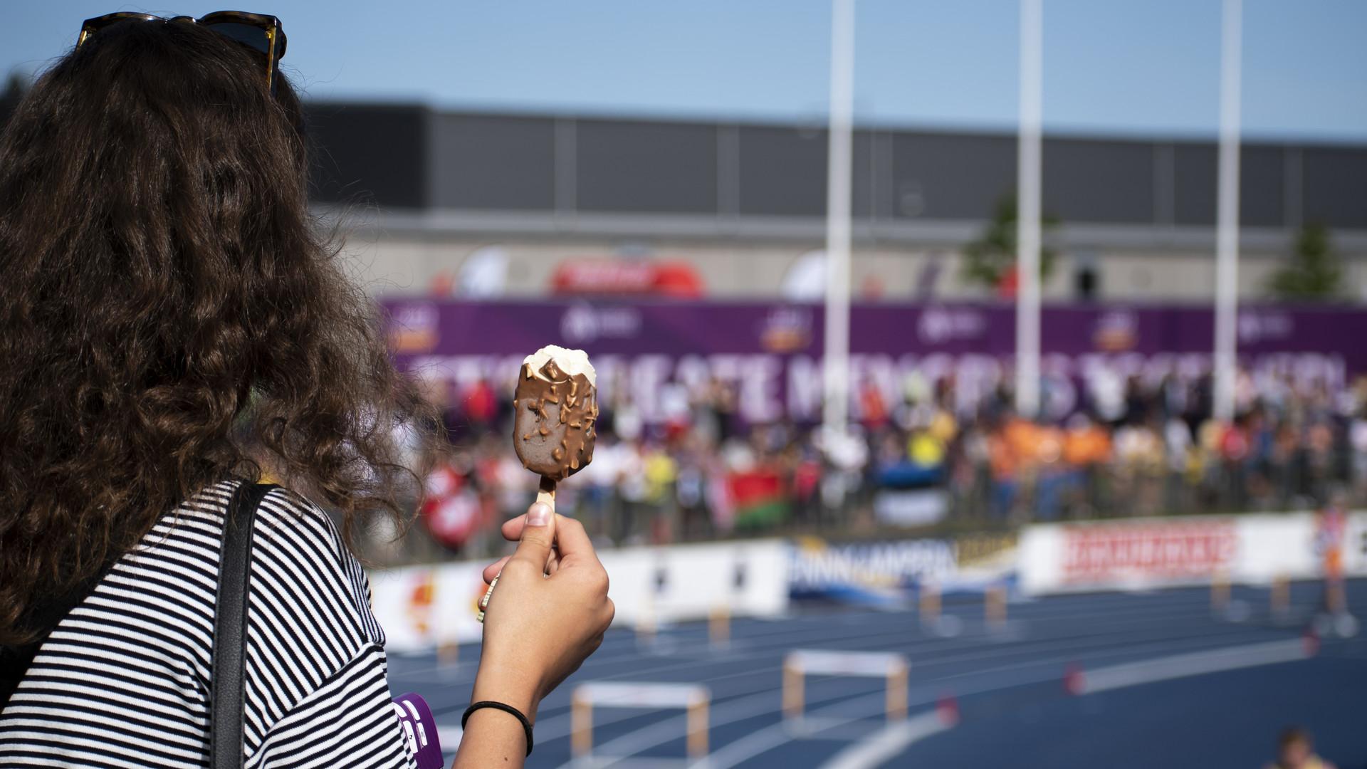 U23-EM i friidrott på Gavlehov 2019.