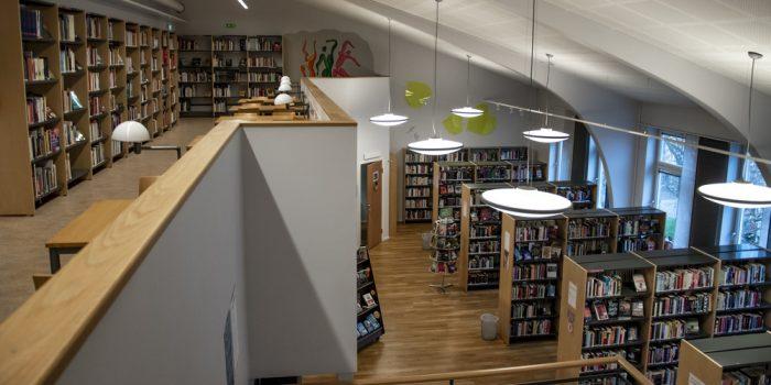 Biblioteket på Borgarskolan