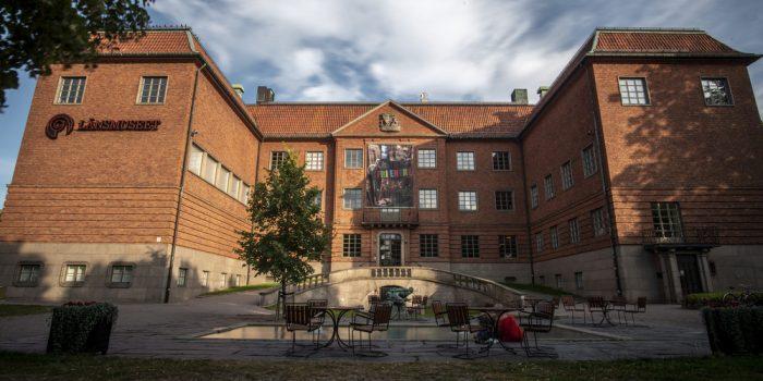 Fasadbild Länsmuseet.