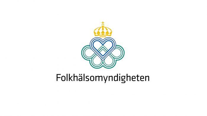 Folkhälsomyndighetens logotyp.
